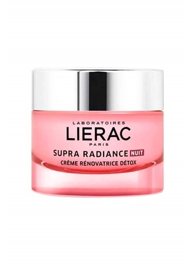 Lierac LIERAC Supra Radiance Detox Renewing Night Cream 50 ml - Tüm Ciltler Renksiz